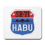 SR-71 Blackbird HABU Mousepad