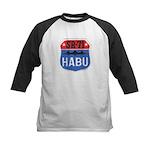 SR-71 Blackbird HABU Kids Baseball Jersey