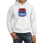 SR-71 Blackbird HABU Hooded Sweatshirt