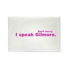 I Speak Gilmore Rectangle Magnet (100 pack)