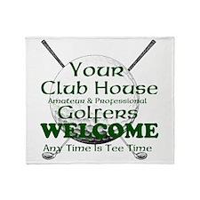 club house Throw Blanket