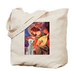 Angel / Bedlington T Tote Bag