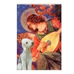 Angel / Bedlington T Postcards (Package of 8)