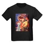 Angel / Bedlington T Kids Dark T-Shirt