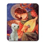 Angel / Bedlington T Mousepad