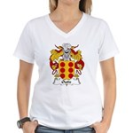 Outiz Family Crest Women's V-Neck T-Shirt
