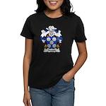 Novais Family Crest Women's Dark T-Shirt
