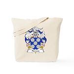 Novais Family Crest Tote Bag