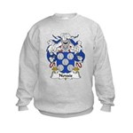 Novais Family Crest Kids Sweatshirt