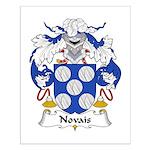 Novais Family Crest Small Poster
