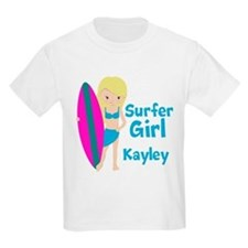 Surfer Girl Blonde T-Shirt