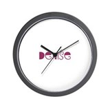 Funny Denise Wall Clock
