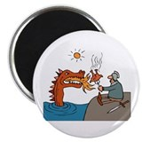 "Help with Dinner Dragon 2.25"" Magnet (100 pack)"