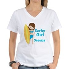 Surfer Girl Brunette Shirt