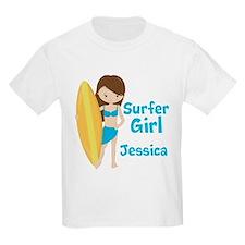 Surfer Girl Brunette T-Shirt