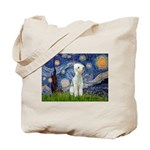Starry / Bedlington Tote Bag