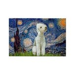 Starry / Bedlington Rectangle Magnet
