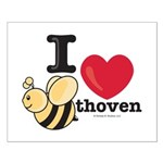 I Love BEEthoven Small Poster