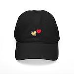 I Love BEEthoven Black Cap
