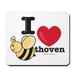 I Love BEEthoven Mousepad