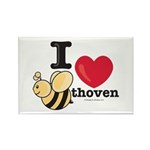 I Love BEEthoven Rectangle Magnet (10 pack)