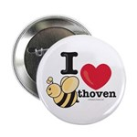 I Love BEEthoven Button