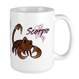 Cartoon Scorpio Mug