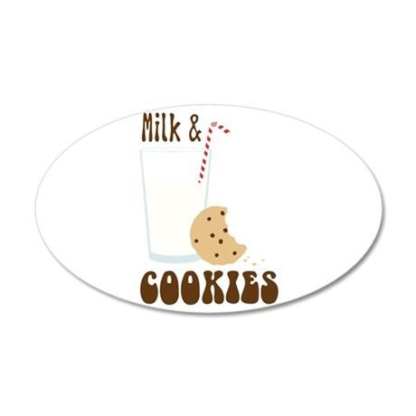 Milk & Cookies Wall Decal