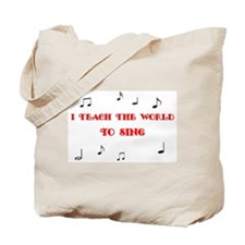 Music Teacher Tote Bag