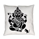 Ganesha Everyday Pillow