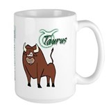 Cartoon Taurus Mug