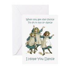 I HOPE YOU DANCE Greeting Cards (Pk of 20)