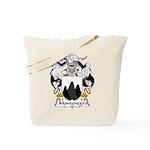 Montenegro Family Crest Tote Bag