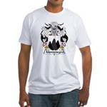 Montenegro Family Crest Fitted T-Shirt