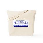 Blue State Prisoner Tote Bag