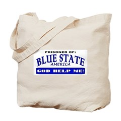 Blue State Prisoner Tote Bag