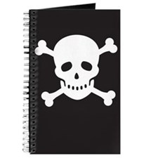 Classic Pirate Skull Journal