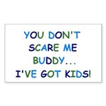 PARENTING HUMOR Rectangle Sticker