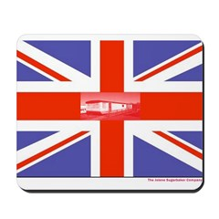 British Caravan Flag Mousepad