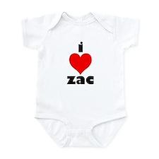 I Love Zac Onesie