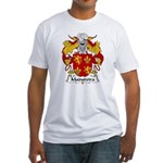 Madureira Family Crest  Fitted T-Shirt