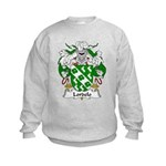 Lordelo Family Crest Kids Sweatshirt