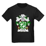 Lordelo Family Crest Kids Dark T-Shirt