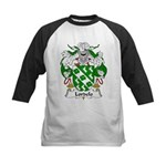 Lordelo Family Crest Kids Baseball Jersey