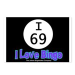I 69 I Love Bingo Postcards (Package of 8)