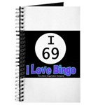 I 69 I Love Bingo Journal