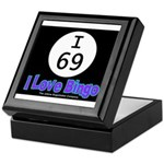 I 69 I Love Bingo Keepsake Box