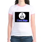 I 69 I Love Bingo Jr. Ringer T-shirt