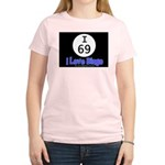 I 69 I Love Bingo Women's Pink T-Shirt