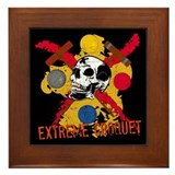 Extreme croquet Framed Tiles